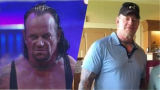 The Undertaker Wearing Golf Clothes Is The Best Thing That Happened This Weekend