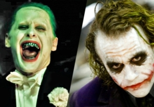 Jared Leto Discussed Filling Heath Ledger's Shoes As The Joker In 'Suicide Squad'