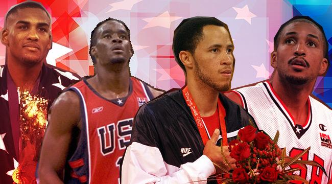 usa basketball Olympians