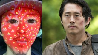 'The Walking Dead' actor Steven Yeun discovered SnapChat and made you some nightmares