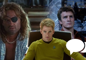 Weekend Conversation: Who Would You Want To Captain Your Starship?