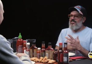 David Cross Reflects On His Career While Setting His Mouth On Fire With Hot Sauce