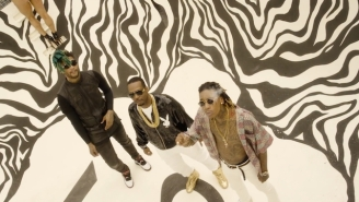 Wiz Khalifa, Juicy J And TM88 Rip Through Las Vegas With Young Thug In The 'All Night' Video