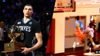 Zach LaVine Hosted His Own Personal Dunkathon At The Seattle Pro-Am This Weekend