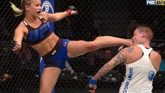 Paige VanZant Returns From 'Dancing With The Stars' To Get A Huge KO At UFC On FOX