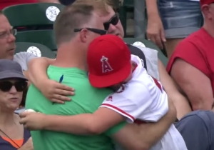 Mike Trout Made This Young Fan Cry Tears Of Joy With A Simple Autograph