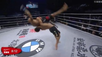 This May Be The Most Devastating And Vicious Suplex Slam To Ever Come Out Of Chinese MMA