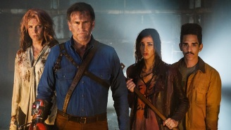 A 'Sons Of Anarchy' Alum Gets A Villainous Grip In This 'Ash Vs. Evil Dead' Season 2 First Look