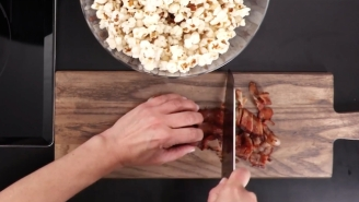 Why Have You Never Tried Bacon Popcorn Before?