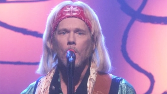 Kevin Bacon Does His Best Tom Petty Impression To Play A Very Different Version Of 'Free Fallin'