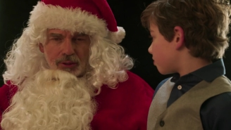 Will lightning strike twice? The 'Bad Santa 2' trailer wants us to think so