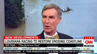 Bill Nye Takes Umbrage With CNN's 'Climate-Change Denier' After The Louisiana Floods