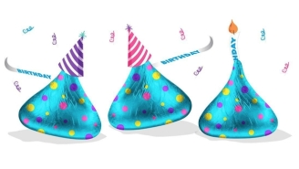 Birthday Cake Hershey's Kisses Are Here, And We Are 100% On Board