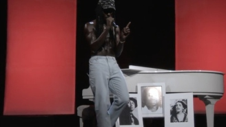 Blood Orange Honored Victims Of Gun Violence While Performing 'Augustine' And 'Thank You' On Conan