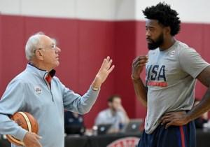 Syracuse's Jim Boeheim Explains Why Coaching Team USA Is 'Fantasy World' Compared To The NBA