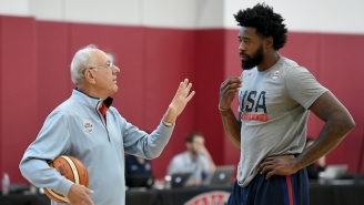 Syracuse's Jim Boeheim Explains Why Coaching Team USA Is 'Fantasy World' Compared To The NBA