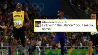 Lebron James Recognizes Usain Bolt's Greatness After His Latest Historic Win