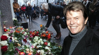 A Plaque Honoring David Bowie Was Installed Outside His Berlin Home
