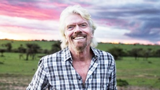 Richard Branson Crashed His Bike, Went Over A Cliff, And Lived To Tell The Tale