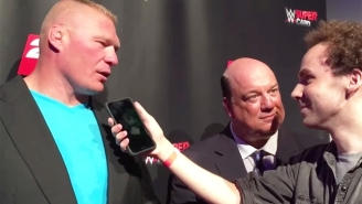 Brock Lesnar Is Brutally Profane With His Thoughts On Conor McGregor In WWE