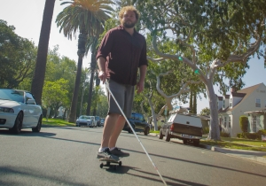 This Man Rides Bikes And Skateboards…He Also Happens To Be Blind