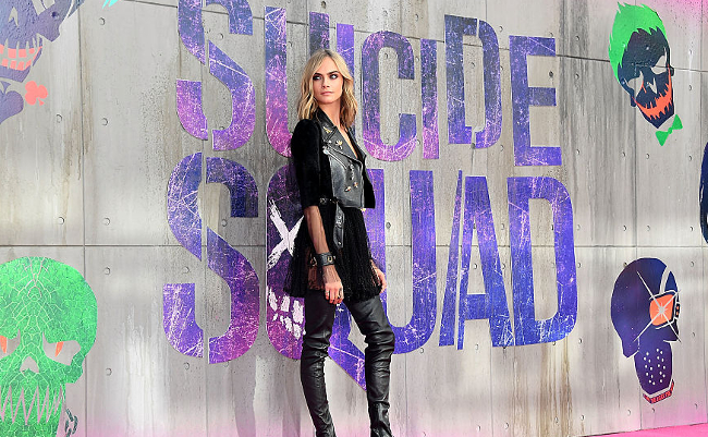 Cara Delevingne Suicide Squad