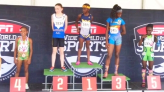 Chad Johnson's 11-Year-Old Daughter Blew Everyone Away At The Junior Olympics