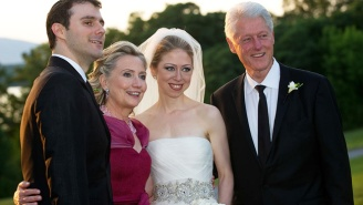 Donald Trump Reportedly Tried To Invite Himself To Chelsea Clinton's 2010 Wedding