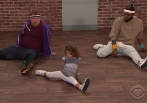 James Corden And Jason Derulo Try To Keep Up With Some Kid Choreographers