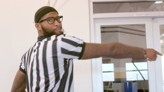 DeMarcus Cousins Takes Out His Frustration On Officiating By Going Undercover As A Ref