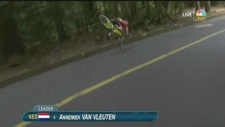 One Of The Most Brutal Crashes You'll Ever See Cost This Dutch Cyclist A Gold Medal
