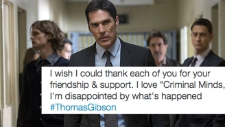 Thomas Gibson Joins Twitter To Emotionally Discuss His Dismissal From 'Criminal Minds'