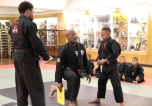 This Martial Arts Instructor Has A Very Important Lesson To Teach Young Boys About Crying