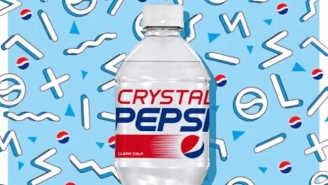 Crystal Pepsi Is Back But It Sadly Won't Be In Stores For Long