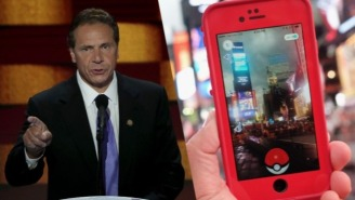 New York Gov. Cuomo Bars Sex Offenders From Playing 'Pokémon Go'
