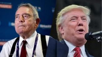 Dan Rather Invokes The American Civil War To Condemn Trump's '2nd Amendment' Remarks