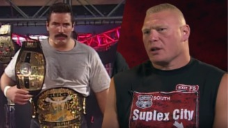 Dan Severn Calls Out Brock Lesnar Over His PED Usage In UFC