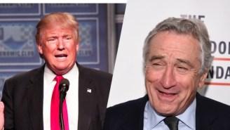 Robert De Niro Can't Believe People Support Donald Trump: 'He Is Totally Nuts'