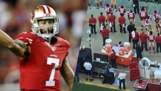 49ers QB Colin Kaepernick Won't Stand For The National Anthem While There Are 'Bodies In The Street'
