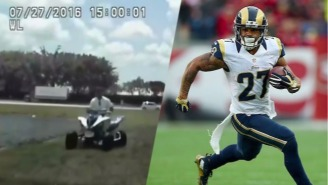 Tre Mason's Mother Told The Cops That Concussions Are To Blame For His Bizarre ATV Chase
