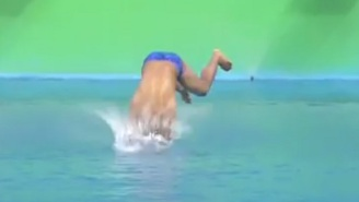 This Spectacularly Bad Olympic Diving Attempt Should Win The Gold Medal For Belly Flopping