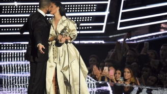 The Internet Reacts To Drake And Rihanna's Awkward Almost-Kiss At The MTV VMAs