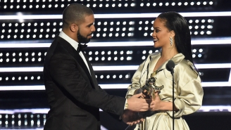 It Looks Like Rihanna Didn't Diss Drake At The VMAs After All