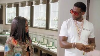 Dreezy Promises Gucci Mane 'We Gon Ride' Then Takes Him Jewelry Shopping