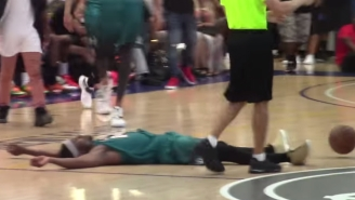 This 'Fight' In The Drew League Featured A Legendary Flop