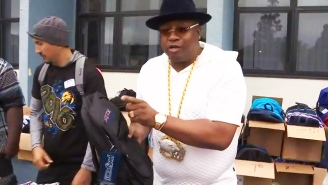 E-40 Donates $25K In School Supplies To His Old Bay Area Middle School