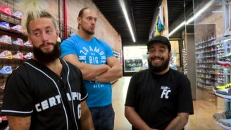 Enzo Amore And Big Cass Looking At $20K Shoes Is The Perfect Weekend Video