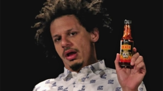 Eric Andre Reveals His Most Offended Guests While Channeling Chocolate Rain And Eating Hot Wings