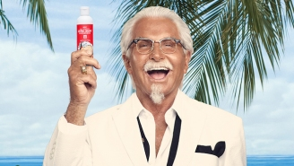 KFC's Fried Chicken Sunscreen Is Not A Joke And Is Also Not Edible