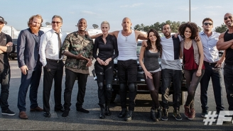 Let's Overanalyze Where The Rock And Vin Diesel Are Standing In This 'Fast 8' Cast Photo